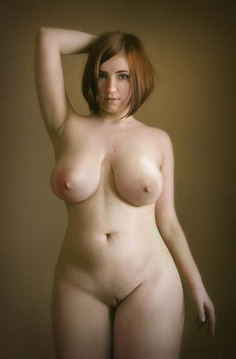 Пухлые голые девки фото